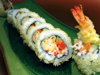 how to make california roll crab filling